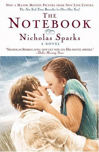 "the notebook"" book summary and review ccpl writers block cover of the book the notebook by nicholas sparks review by dancingforever27"