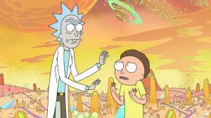 Still image from TV show Rick and Morty