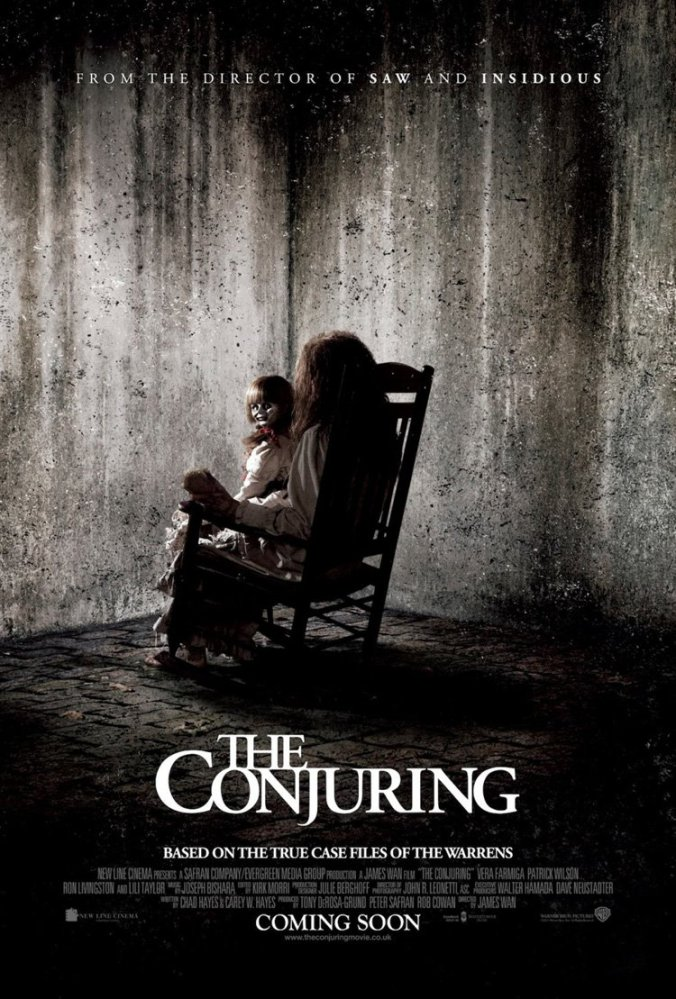 poster for the movie The Conjuring