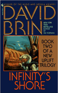 Cover of book Infinity's Shore by David Brin