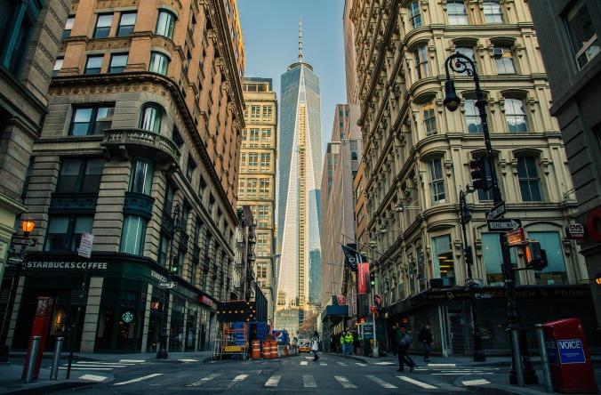 photo of New York City street