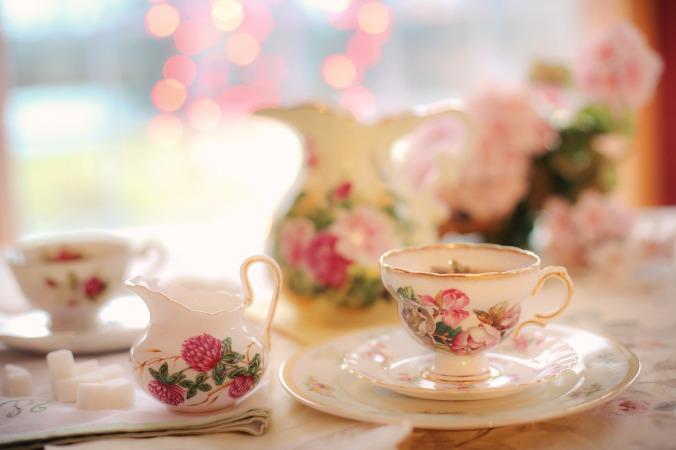 photo of vintage tea set