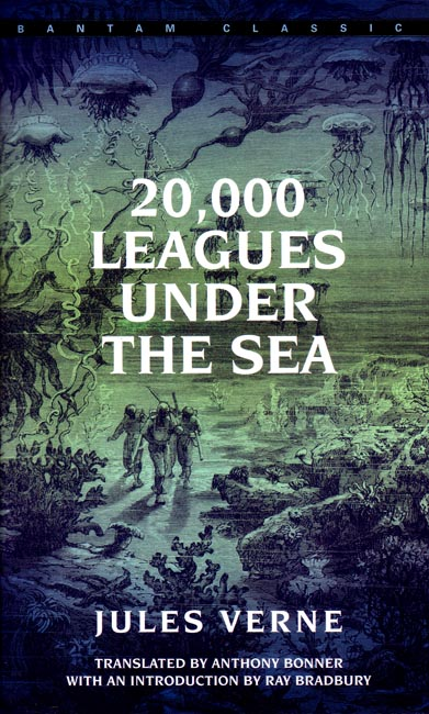 cover of 20,000 Leagues Under the Sea by Jules Verne
