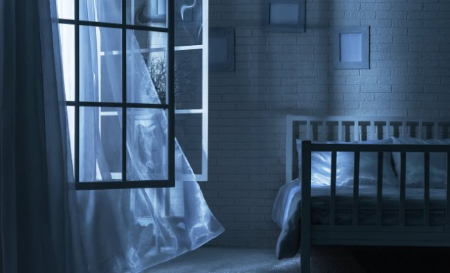 stock-photo-bedroom-with-the-window-open-and-the-breeze-on-a-moonlit-night-136849706