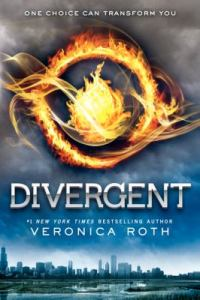 image of book cover of Divergent