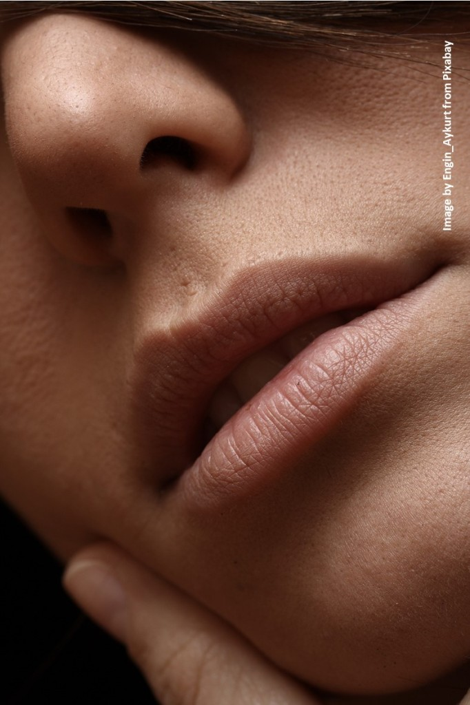 Nose and lips